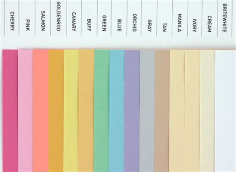 Domtar Colors - Earthchoice Cover - 8.5 x 11 Card Stock ...