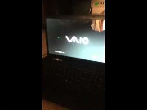 sony e series laptop boot menu