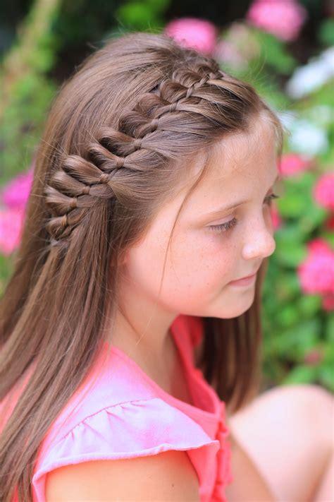 strand french braid easy hairstyles cute girls