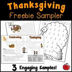 Free Thanksgiving Worksheets By Tchrbrowne  Teachers Pay Teachers