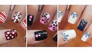 Easy Christmas Nail Art Designs For Short Nails ...