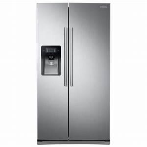 Samsung 24 5 cu ft Side by Side Refrigerator in