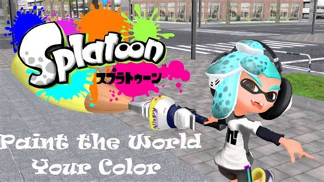 paint the world your color skye splatoon credits theme paint the world your color