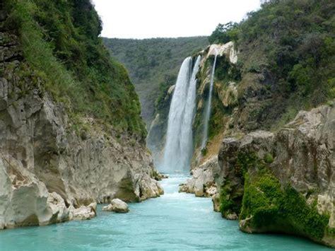 Cascada De Tamul Cerca De Tanchachín Picture Of