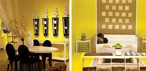 20 idei pentru decorarea sufrageriei in nuante de galben