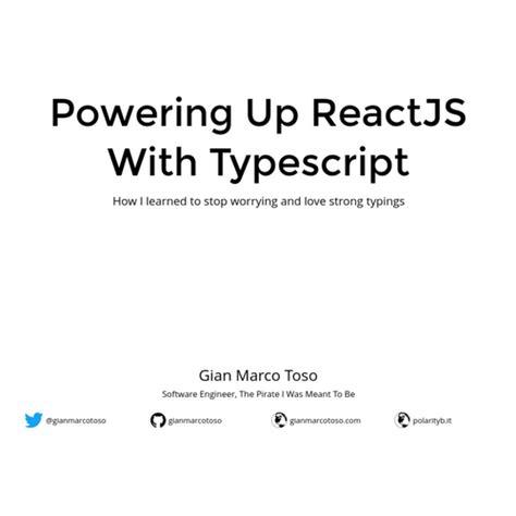 L'image suivante illustre les différents gestes reconnus par windows 7. Powering Up ReactJS With Typescript