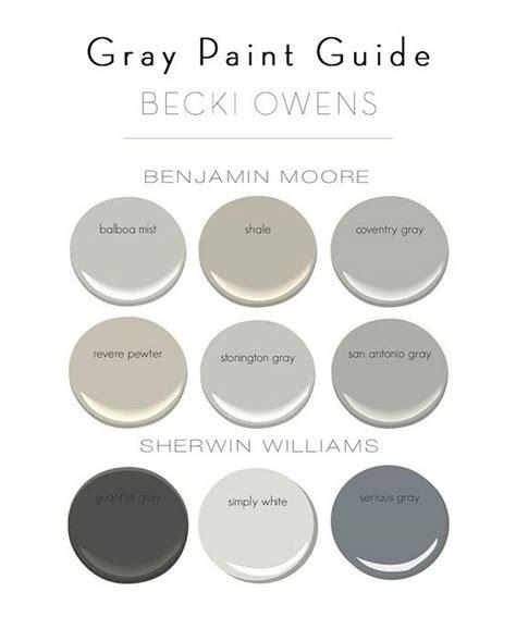 grays by benjamin bm balboa mist bm shale bm