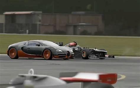 F1 Car Vs Bugatti Veyron, Laferrari, P1, And More! Top