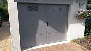 Porte De Garage Battante : novoferm porte de garage battante duoport point p ~ Dallasstarsshop.com Idées de Décoration