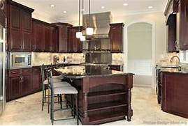 Agreeable Kitchen Cabinets Trends Decoration Ideas Pictures Of Kitchens Traditional Dark Wood Kitchens Cherry Color