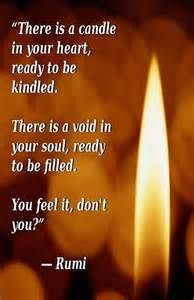 Is There a Candle in Your Heart Rumi