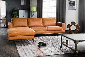 Couch Leder Cognac : kasper wohndesign sofa leder retro cognac recamiere rechts ~ A.2002-acura-tl-radio.info Haus und Dekorationen
