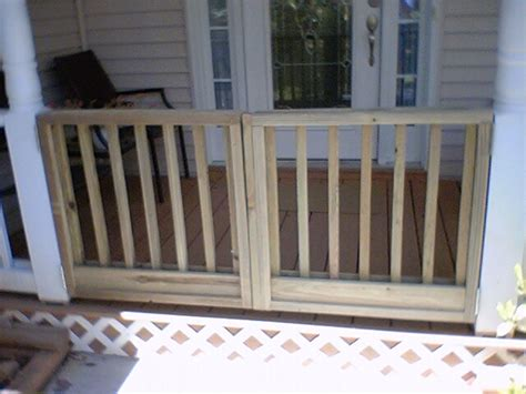 gate for front porch nosworthy porch gate