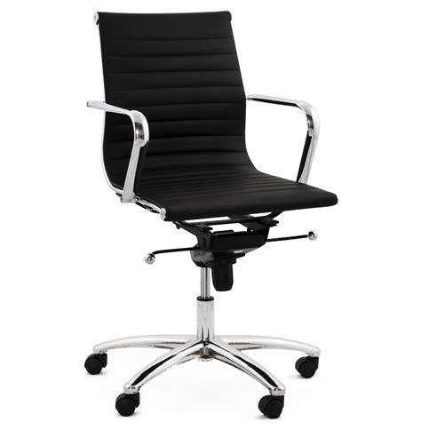 fauteuils de bureau design fauteuil de bureau design mega en similicuir noir