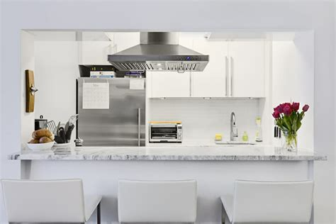 glossy ikea cabinets shine   brooklyn kitchen renovation