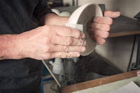 betonschalen selber gießen ausgefallene wohnaccessoires aus beton als geschenk betonschalen