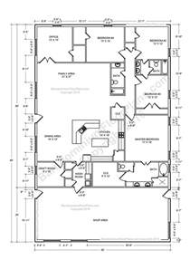 4 bedroom pole barn house floor plans best 25 shop house plans ideas on