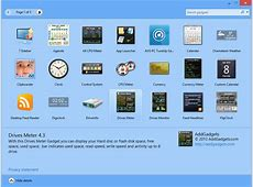 8GadgetPack 230 free download Software reviews