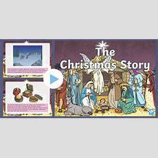 * New * Ks2 The Christmas Story Powerpoint  Nativity, Jesus