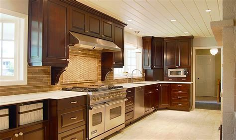 coffee color kitchen cabinets be brave to apply espresso kitchen cabinets with granite 5522