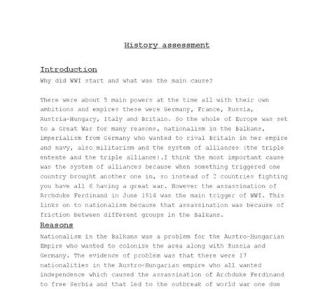 Kitchen Debate Essay by Causes Of World War 1 Essay Pdf