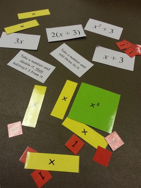 lotw expressions  algebra tiles