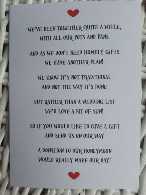 wedding poem money   gift   poems  weddbook