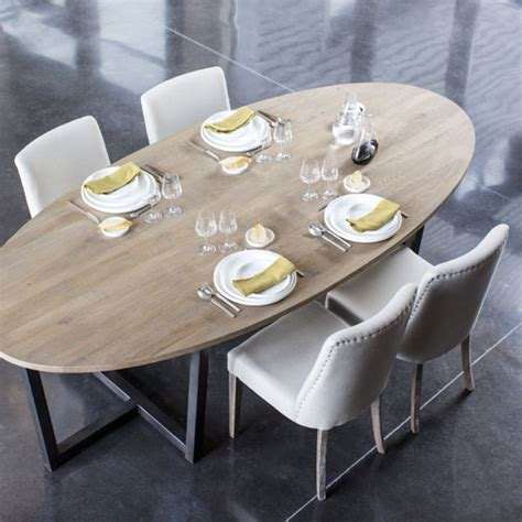table salle a manger ovale table a manger ovale