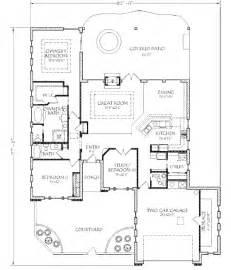 kitchen layout designs adobe southwestern style house plan 3 beds 2 50 baths 2132