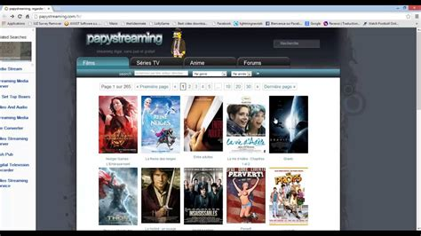 Les meilleurs site streaming - YouTube