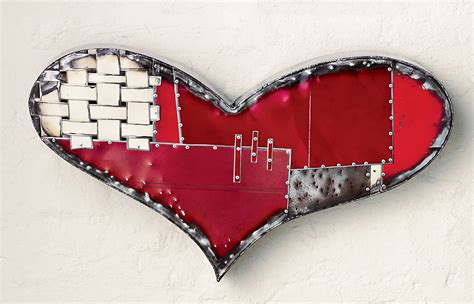 Skip to main content skip to footer. Chubby Heart by Anthony Hansen (Metal Wall Sculpture ...