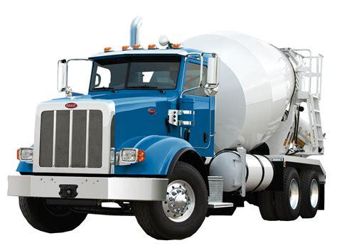 peterbilt concrete mixer truck