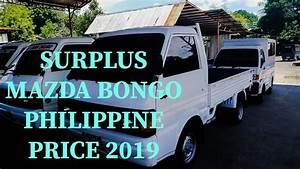 Mazda Bongo Used  Philippine Price 2019  Requested Video