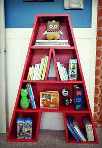 pin by project nursery junior on children39s storage With letter bookshelf
