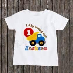 dig    birthday dump truck shirt  storenvy