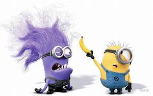 Minions With Purple Minions In Despicable Me 2 HD Wallpaper