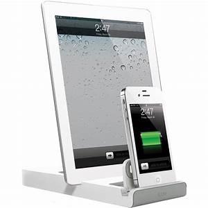 Dockingstation Ipad Und Iphone : iluv iad302 doubleup dual dock charger for ipad iad302wht b h ~ Markanthonyermac.com Haus und Dekorationen