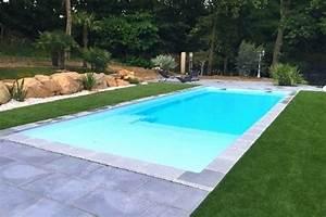 Piscine Paques kit piscine coque polyester avec plage et escalier immergé