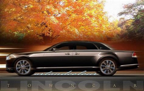 lincoln town car price release date