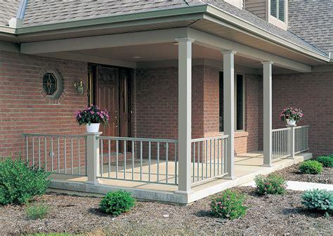 aluminum porch columns 6 quot w x 8 h square smooth aluminum column white no painting