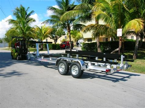 Aluminum Boat Trailer Pros And Cons by All American Boat Trailers Pompano Florida Custom