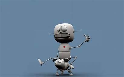 Funny Wallpapers Robot Cool Robots 3d Cartoon