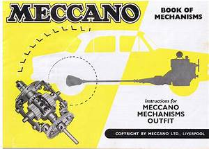 Meccano Mechanisms Set Manual