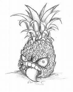 Psychotic Pineapple by Ge-B on DeviantArt