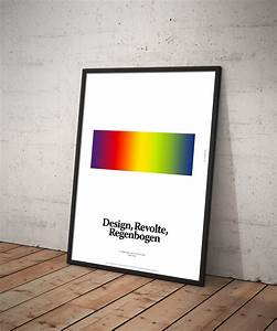 Poster Aufhängen Ohne Rahmen : design revolte regenbogen poster edition suhrkamp fine german design shop ~ Bigdaddyawards.com Haus und Dekorationen