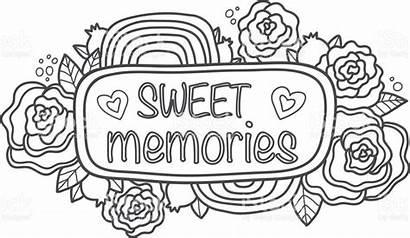 Scrapbook Memories Printable Sweet Sticker Doodle Fun
