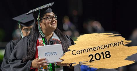 commencement ceremony highline college