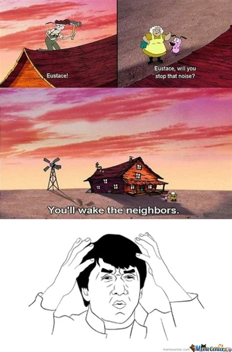 Courage The Cowardly Dog Meme - mayans the trollers 21 funny pics of may 2013