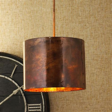 hammered copper pendant light hammered copper pendant pendant lighting by shades of