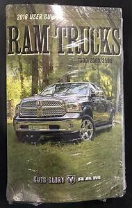 2016 Dodge Ram Truck 1500 2500 3500 Owners Manual Owner U0026 39 S